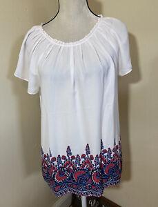 Ann Taylor LOFT blouse Shirt Top L NWT
