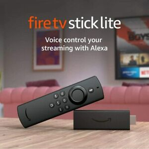 Amazon Fire TV Lite Stick Remote Streaming Box Netflix HDTV Digital 1080p AU