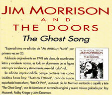 JIM MORRISON AND THE DOORS - THE GHOST SONG CD SINGLE PROMO SPAIN 1995 1 TRACK