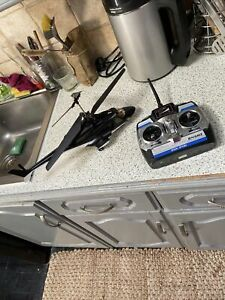 RC RADIO CONTROL TRANSMITTER CENTURY CUK-2401 REMOTE CONTROL & Helicopter