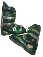 Lange Banshee Ski Boots Mondo 28 men's 10 us green/silver 323mm