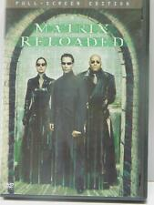 The Matrix Reloaded (DVD, 2003, 2-Disc Set, Full-Screen) Carrie-Anne Moss Reeves
