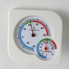 Indoor Outdoor Mini Wet Hygrometer Humidity Thermometer Temperature Meter IL