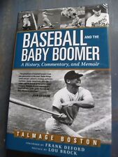 Baseball &Baby Boomer:History Commentary Memoir✎Signed Authograph✎TALMAGE BOSTON