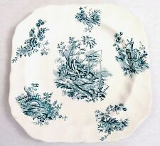 Johnson Brothers Vintage Plate Toile de Jouy  England Blue