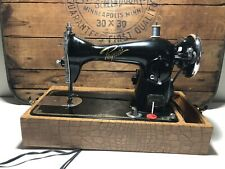 Vintage Electric Sewing Machine Super Deluxe Precision with Foot Pedal Works