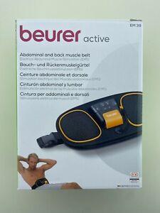 Beurer EM39 2-in-1 Abdominal and Back Muscle Toning Belt