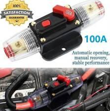 100a Amp Circuit Breaker Dual Battery Ip67 Waterproof 12v /24v Fuse Manual Reset