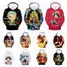 Anime One Piece HD Print Pullover Hoodie Sweatshirt Sportswear Cosplay Coat Tops
