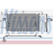 Kondensator Klimaanlage - Nissens 94667