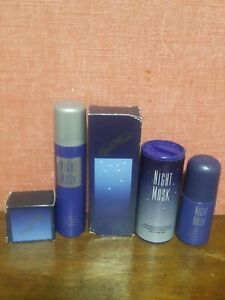Avon Night Musk 5pice Set Brand New Rare and discontinued