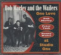 BOB MARLEY & THE WAILERS / ONE LOVE (AT STUDIO ONE) * NEW 2CD'S * NEU *
