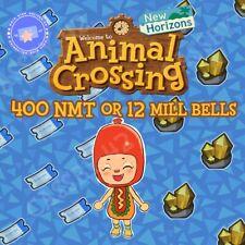 400 Nook Mile Tickets Or 12 million bells Or 200 Nmt & 6 Million bells!