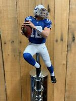 Andrew Luck TAP HANDLE Indianapolis Colts Beer Keg NFL Football Blue Jersey