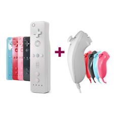 For Nintendo WII Remote Nunchuck Controller Silicone Case Wrist Strap Wireless