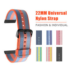 22 mm Universal Nylon Watch Strap Replacement Band For Amazfit Pace Smart watch