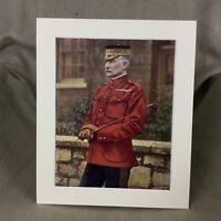 1900 Antico Militare Ritratto Stampa Frederick Forestier Walker British Esercito