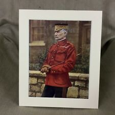 Antique Military Portrait Print Frederick Forestier Walker British Army Ca. 1900