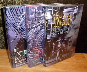 THE LOST BLOCH : 3 Volumes SUBTERRANEAN PRESS ! 2 SIGNED! F/F Copies!