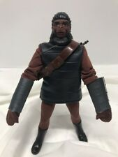 """1967 Mego 8"""" Planet of the Apes Soldier Ape w/Rifle & Bandolier REPO GLOVES"""
