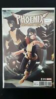 Phoenix Resurrection 2 Variant Edition Marvel High Grade Comic Book RM8-110