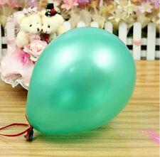 100 metallisch uni Balons Ballons Helium NEU Luftballons Qualität Geburtstag