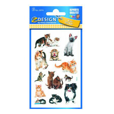 Sticker Katzen Aufkleber Katze Dekorieren Sammeln Basteln Kleben