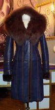 Luxus Designer Damen echter Lammfellmantel m  Toskana Fell m Kapuze Gr.36,42,NEU