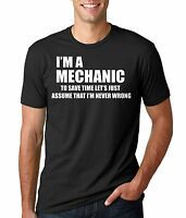 Mechanic T-shirt Gift For Mechanic Funny Mechanic T-shirts Gift T-shirt