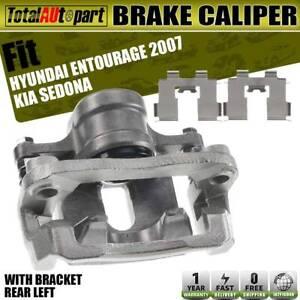 A-Premium Brake Caliper with Bracket for Kia Sedona 2006 2012 2014 Hyundai Entourage 2007 Rear Side 2-PC