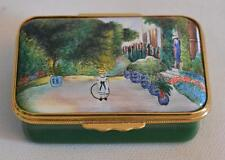 Halcyon Days English Enamels Inspired by Claude Monet Trinket Box