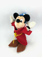 New listing Mickey Mouse Sorcerer Disney Fantasia Plush Stuffed Animal Magical Wizard Toy