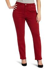 NWT NYDJ Not Your Daughters Jeans Sheri RED SHATTERED WASH Skinny Size 16W
