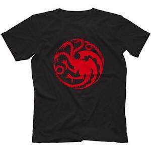 House Targaryen T-Shirt 100% Cotton