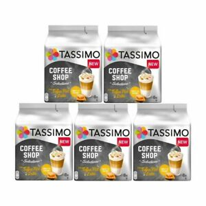 Tassimo T Discs Toffee Nut Latte Pods  8 / 16 / 24 32 / 40 Drinks