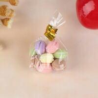 10X/bag 1:12 Dollhouse Miniature Food Dessert Colorful French Macaroon F Jf