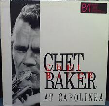 CHET BAKER at capolinea LP Mint- NS 206 Vinyl 1987 Record