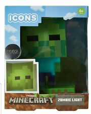Minecraft Icons Zombie Light - Ages 6 Mine Craft Lamp Kids Game