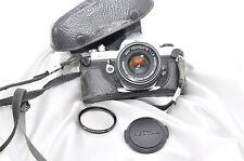 Pentax MX + Pentax 1:1 .7 50mm, obiettivo