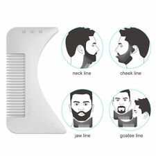 Beard Template Comb for Shaping & Styling Shaper Tool for Mustache Neck Cheek