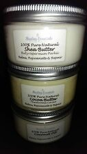 Coconut Oil, Shea & Cocoa Butter Set - 100g Each - Pure Natural Quality