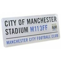 Official Manchester City Football Club Street Sign Stadium M113FF Ideal Gift