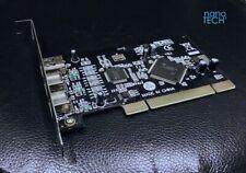 3 Port Firewire 800/400 1394b/a PCI Adapter *Apple Macintosh PowerMac G3 G4 G5