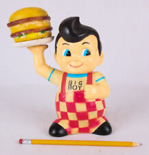 "Vintage Big Boy Bank, 1960s?, 9"" PVC"