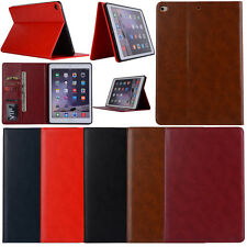 Luxury Folio Leather Wallet Holder Smart Case Cover For iPad Mini Air 2 Pro 10.5