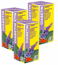Diabetin Herbal Treatment - Diabetes Blood Sugar & Cholesterol Control Pack of 3