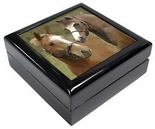 Horse Montage Keepsake/Jewellery Box Christmas Gift, AH-9JB