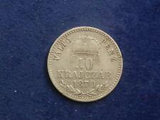 10 Kreuzer  1870  KB  Franz Josef  W/17/1155