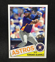 2020 Topps Update YORDAN ALVAREZ RC 1985 Topps Rookie Insert #18 RC Astros