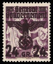 EBS Occupied Poland 1940 Sigmund II Augustus Swastika 24 Gr Michel 22 MNH**
